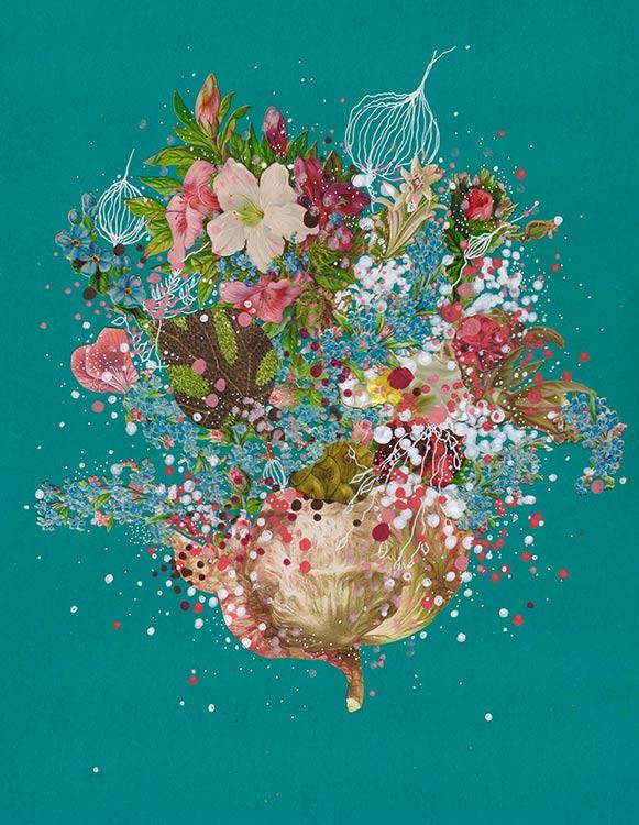 jenny brown, 'flowering sea lattice'