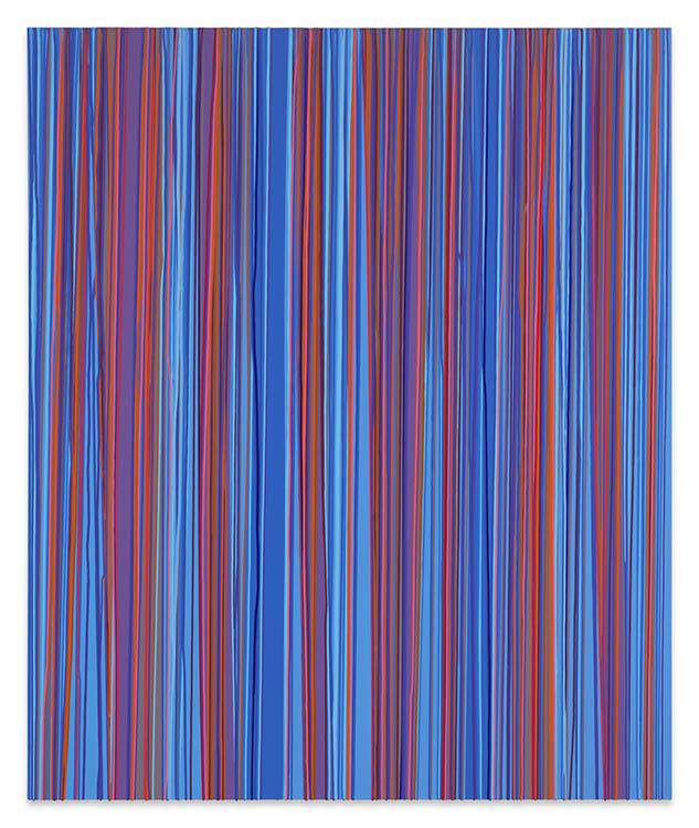 """john guthrie, 'mind bomb', 2017, acrylic on canvas, 72"""" x 60"""""""