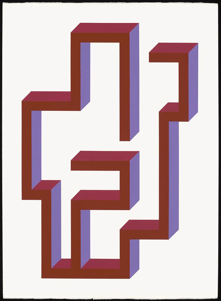 "john guthrie, 'umbra', 2020, acrylic on paper, 30"" x 22"""
