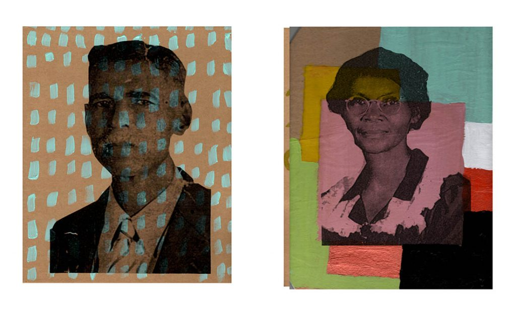 lauren cross, 'pairings: grant harper and malinda wafe: familiar africanness series'